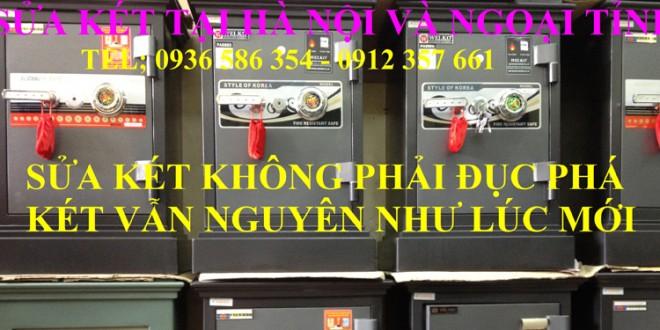 Sửa Chữa Két Sắt Uy Tín Tại Hà Nội